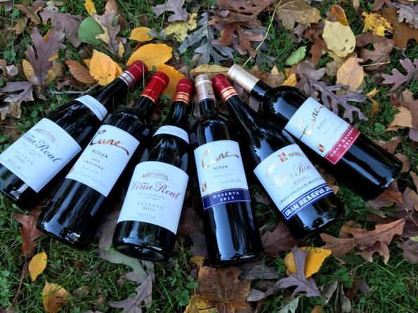 CVNE Rioja wines